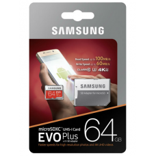 Samsung EVO PLUS (U3) microSD 64GB