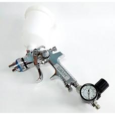 """SS-1109R Краскопульт с верхней емкостью и регулятором давления(сопло 1.4 мм) """"SUMAKE"""" ,"""